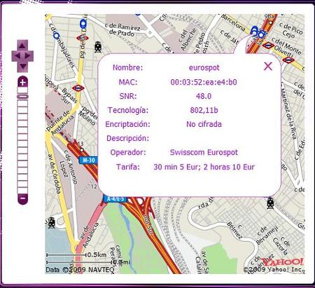 Mapa Wifi