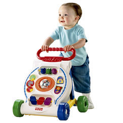 Los juguetes con ruedas estimulan su desarrollo