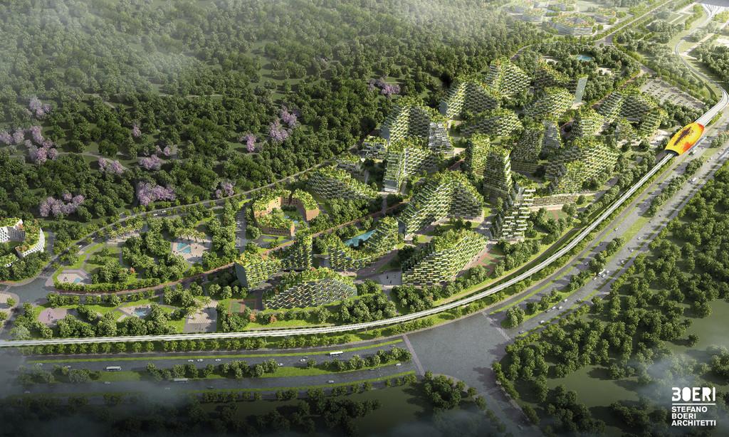 Stefano Boeri Architetti Liuzhou Forest City View 4 Copy