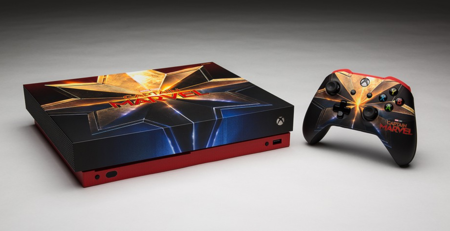 El estreno de Capitana Marvel viene acompañado por esta impresionante Xbox One X personalizada