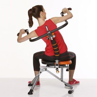 Abdoer Twist, la nueva silla ergonómica para hacer abdominales