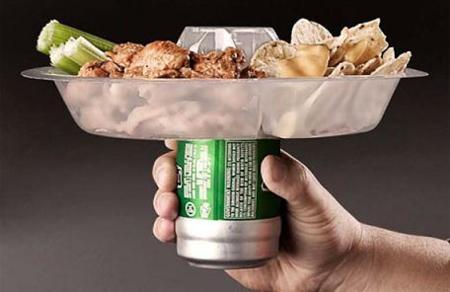 Go Plate, comodidad para comer en una reunión