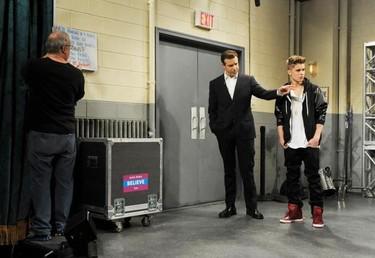 Cuidado con tocarle las orejas a Justin Bieber que él también sabe como cabrearse...