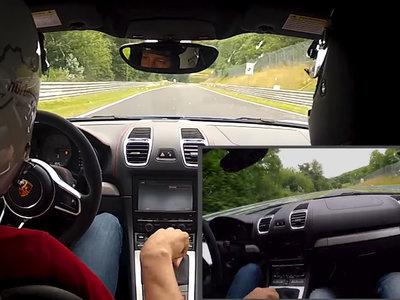 Así es como un piloto profesional te enseña de qué es capaz tu Porsche Cayman GT4 en Nürburgring