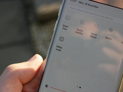 Con Android 7 Nougat, Samsung permitirá que configuremos funciones de aplicaciones en la cortina de ajustes rápidos