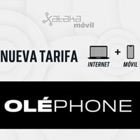 Oléphone mejora sus combinados de fibra y móvil, pero limita el acceso a los datos ilimitados