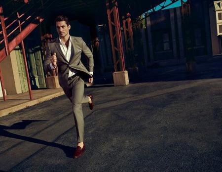 Traje gris Massimo Dutti NYC limited edittion