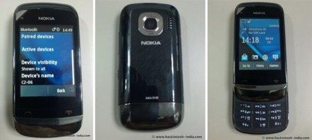 Nokia C2-06. Se filtran nuevas imágenes de este terminal slider con doble SIM