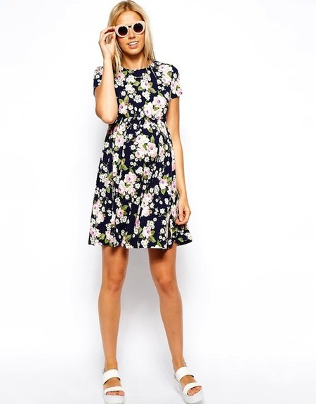 Moda embarazadas verano 2014: los vestidos florales más bonitos
