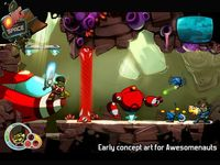Así lucía antes 'AwesomeNauts', con Froggy G. en modo Samuel L. Jackson, y cuando el juego se llamaba 'OMG Space'