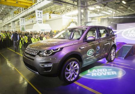El Land Rover Discovery Sport inicia su producción en Halewood