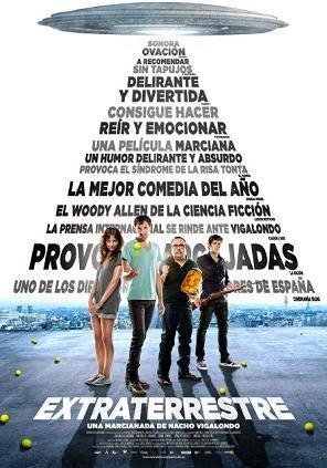 'Extraterrestre', cartel y tráiler de la nueva película de Nacho Vigalondo