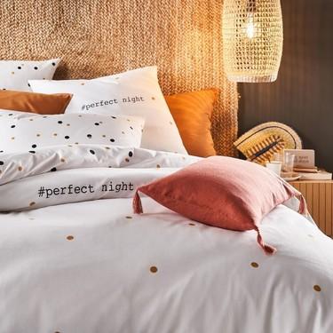 Viste tu cama de revista por menos de 25 euros gracias a los últimos chollos de decoración de La Redoute