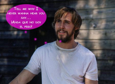 Ryan Gosling... ¿el sexto Backstreet Boy? ¡Muerta me quedo!