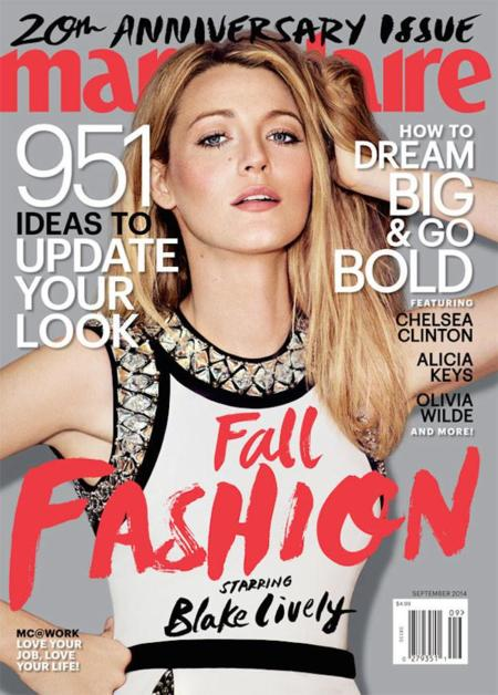 blake lively marie claire portada