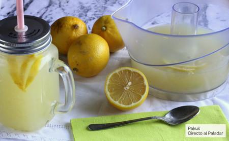 Limonada turca, refrescante y con un ligerísimo toque amargo