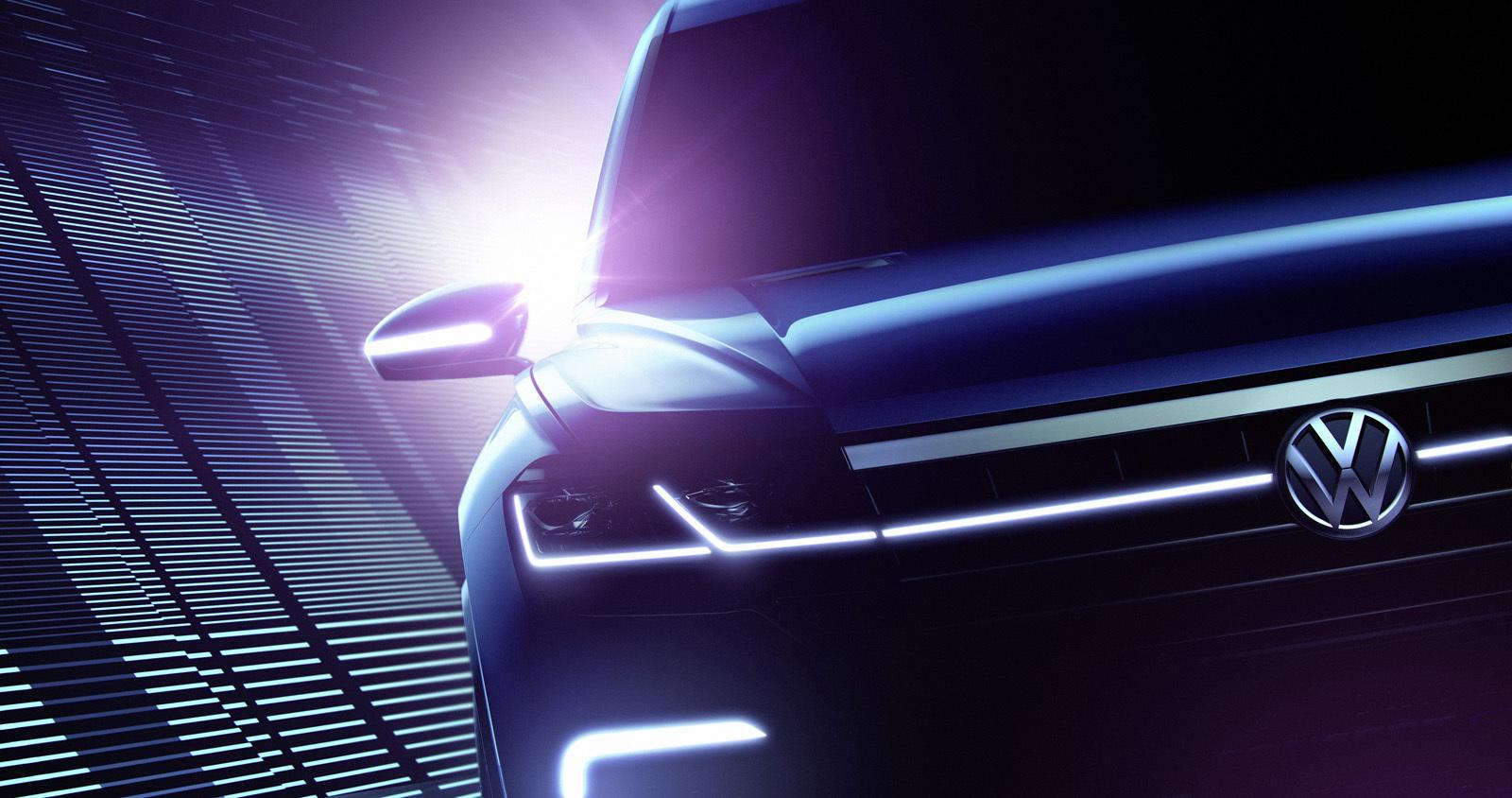 Foto de Volkswagen SUV Concept Salón de Pekín 2016 (2/4)