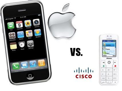 iPhone, Apple demandada por Cisco