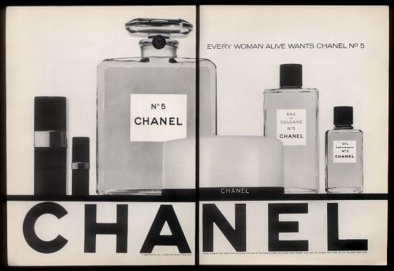 Foto de Chanel No. 5 - publicidad del 30 al 60 (58/61)