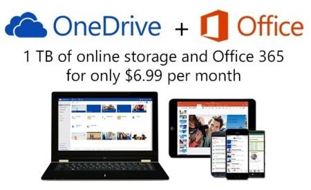 Microsoft duplica el espacio gratuito en OneDrive y da 1 TB a los usuarios de Office 365