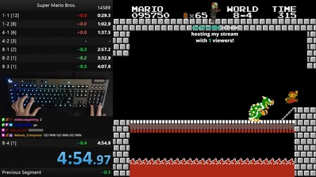 Derriban una barrera imposible: un speedrunner de Super Mario Bros. completa el juego por debajo de los 4 minutos y 55 segundos