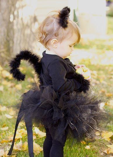Disfraz Halloween Facil Barato Bruja Gato Negro