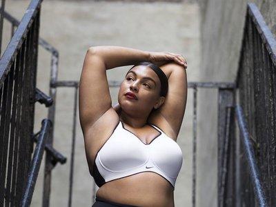 El body-positive llega a Nike, porque sí, las mujeres más allá de la 44 también hacemos deporte