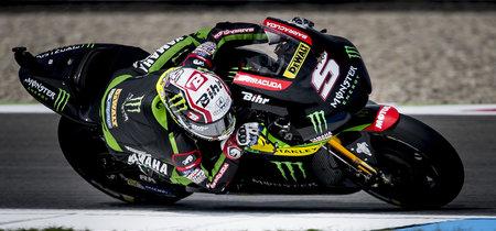 Johann Zarco consigue su primera pole de MotoGP en Assen en una sesión pasada por agua
