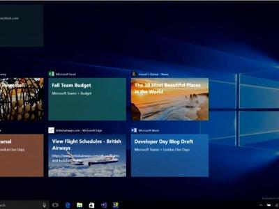 TimeLine no llegará a tiempo para Fall Creators Update y será Redstone 4 la versión de Windows 10 en la que debute