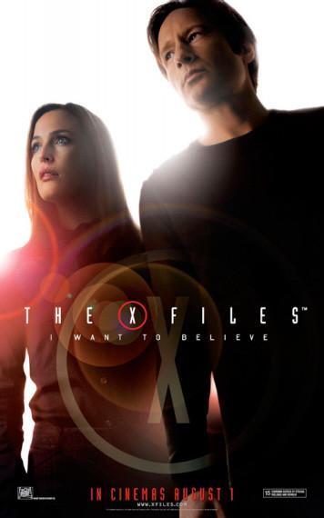 'X-Files: Creer es la Clave', nuevo y alucinante póster