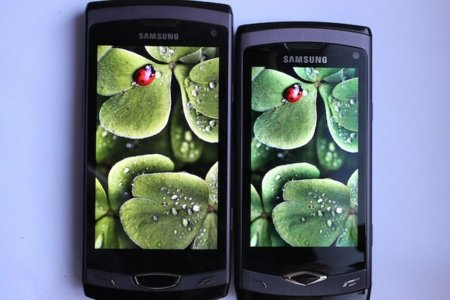 Samsung Wave II Super Clear LCD vs. Samsung Wave Super AMOLED