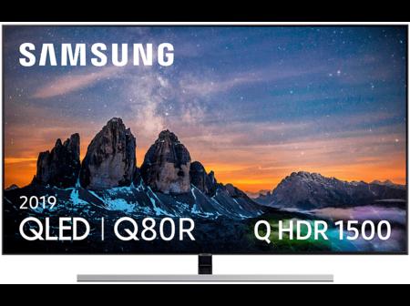 Tv Qled 55 Samsung 55q80r 4k Uhd Ia 4k Direct Full Array Plus Hdr 1500 Quantum Dot Smart Tv