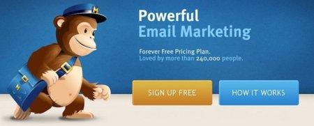 Crea tus campañas de emailing con MailChimp