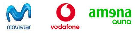 Lineas blancas para Amena, Vodafone y Movistar