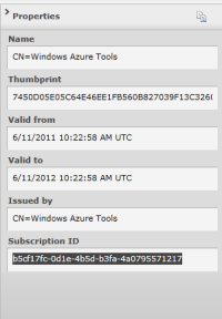 Crear un certificado desde Visual Studio 2010