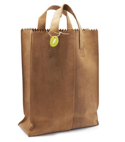 My Paper Bag, bolsa de papel pero de cuero