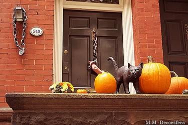 Hemos visto... decoración urbana para Halloween en Nueva York