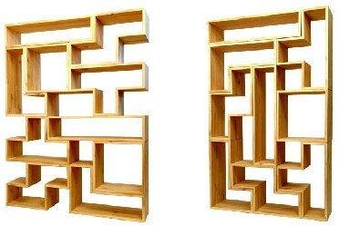 Estanterías estilo Tetris