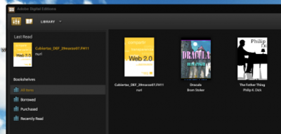 Adobe Digital Editions 1.0 listo para descargar