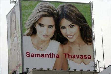 Penélope y Mónica Cruz para Samantha Thavasa