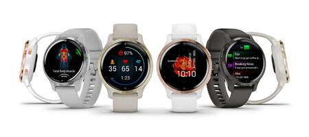 Nuevos Garmin Venu 2 y Venu 2S: sensor SpO2, pulsómetro y GPS integrados para conquistar a los deportistas