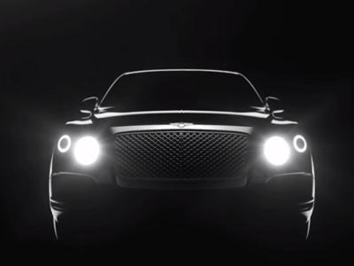 Bentley Bentayga, un adelanto del SUV más lujoso y potente que jamás haya existido