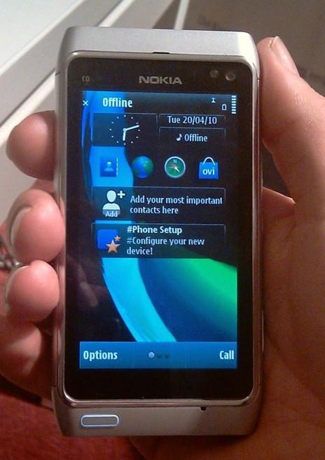 Foto de Nokia N8 plata (4/5)