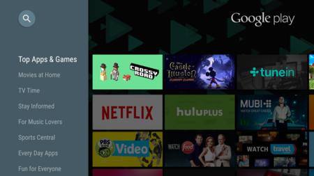 Android TV ya cuenta con 600 aplicaciones y creciendo