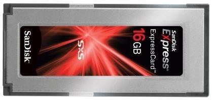 Nuevas ExpressCard de 8 y 16 GB de Sandisk