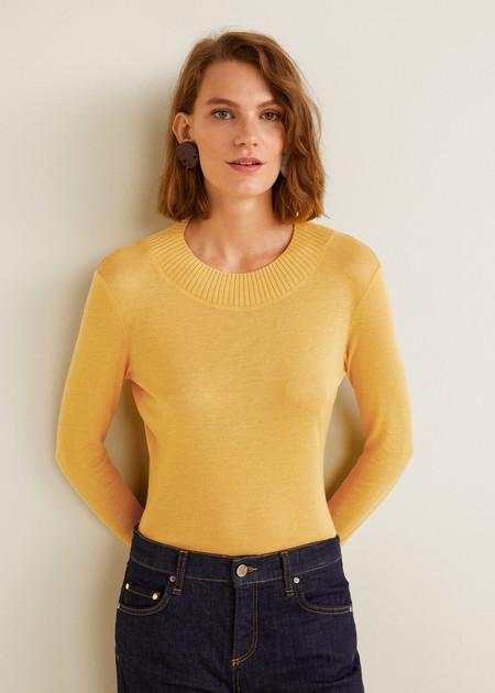 Camiseta Amarilla Manga Larga