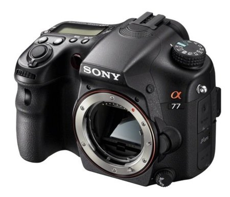 sony A77 cuerpo