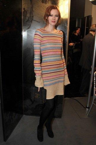 Karen Elson Chanel Alta Costura Primavera-Verano 2011