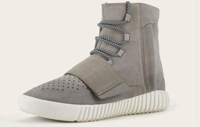 Kanye West quiere tu atención, para él y para sus Adidas Yeezy Boost