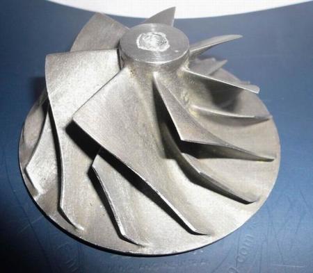 Turbocompresor de titanio